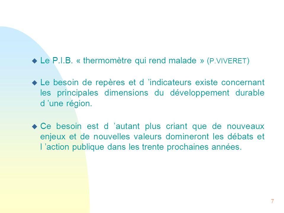 8 L initiative « Indicateurs 21 » L initiative « Indicateurs 21 » trouve son origine dans deux grands chantiers : 1 -Les travaux du SRADT qui ont conduit à l élaboration d un projet régional mobilisateur à 10 ans pour le Nord - Pas de Calais qui sera adopté en Novembre 2006.