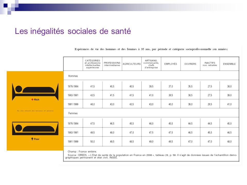 Les inégalités sociales de santé en France.Exploitation de lenquête Handicap-Santé 2008.