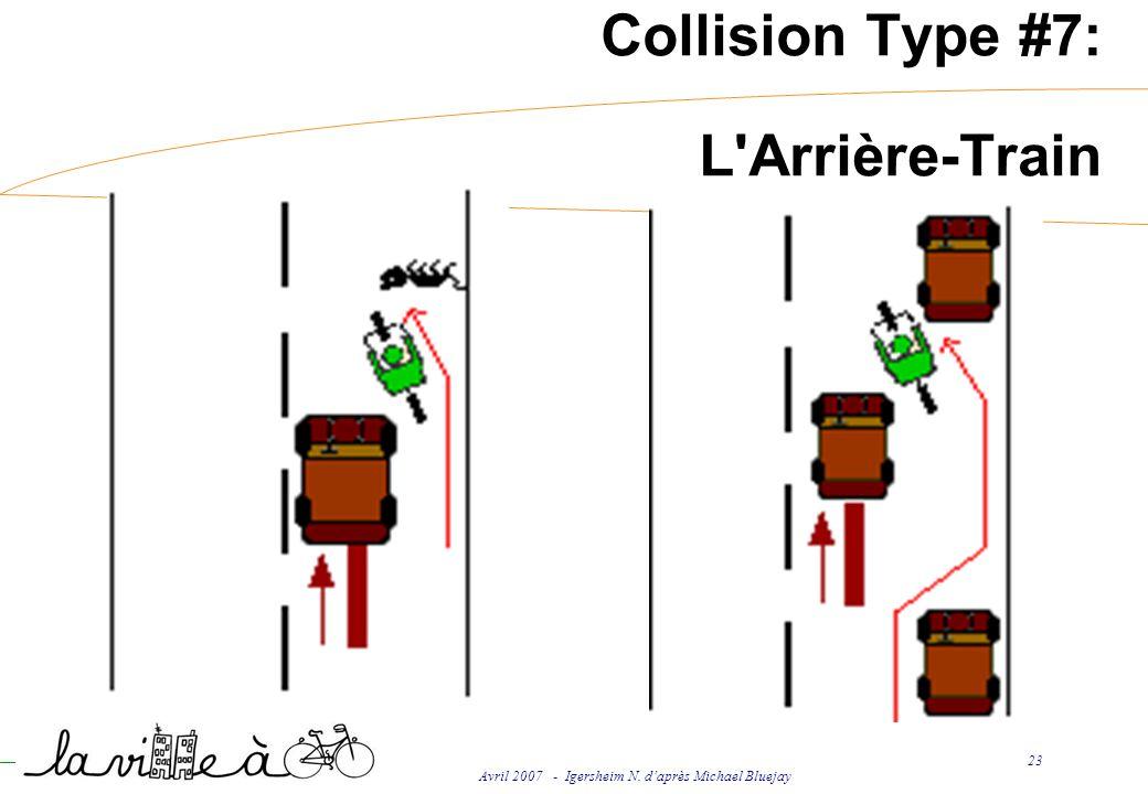Avril 2007 - Igersheim N. daprès Michael Bluejay 23 Collision Type #7: L'Arrière-Train