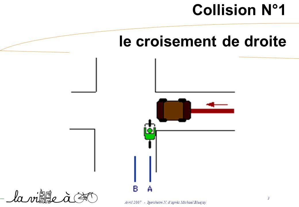 Avril 2007 - Igersheim N. daprès Michael Bluejay 3 Collision N°1 le croisement de droite