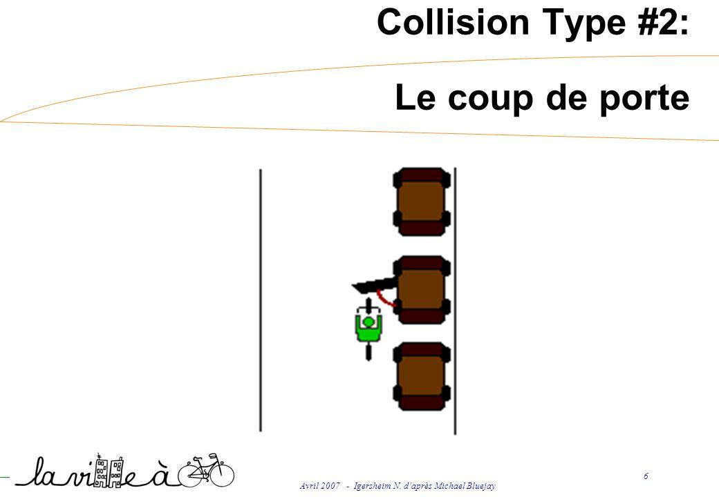 Avril 2007 - Igersheim N. daprès Michael Bluejay 6 Collision Type #2: Le coup de porte