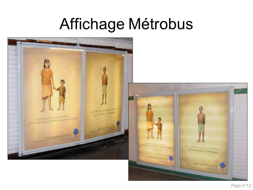 Affichage Métrobus Page n°12