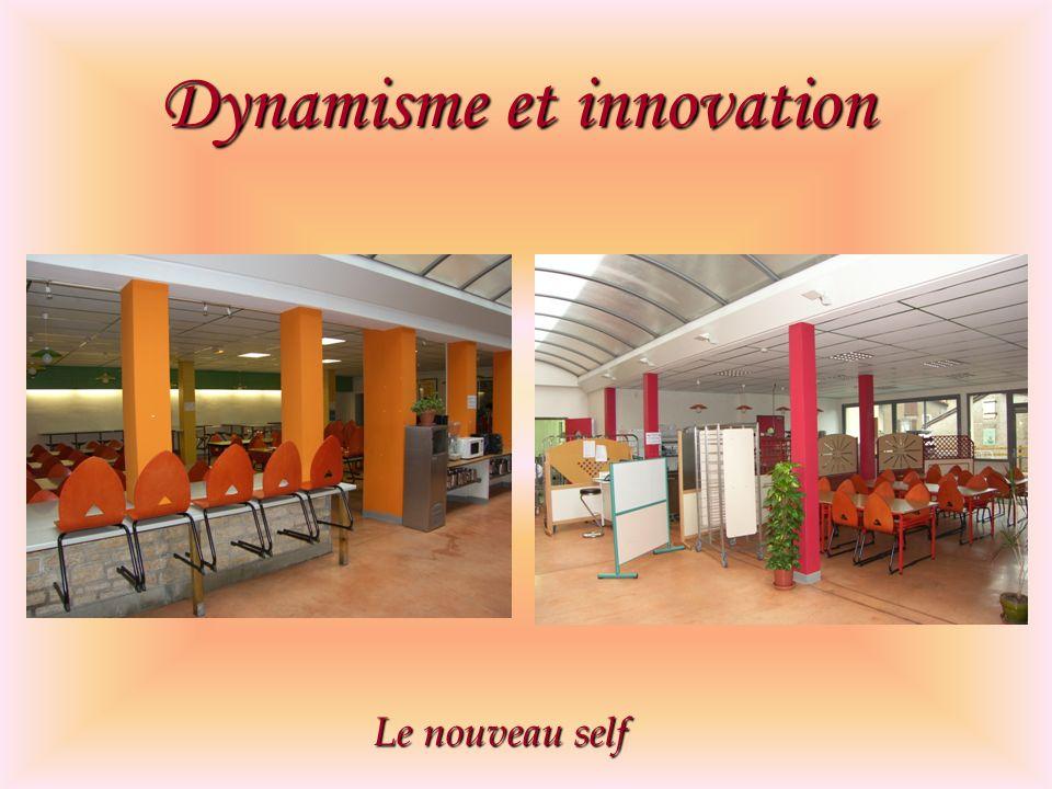 Dynamisme et innovation Le nouveau self