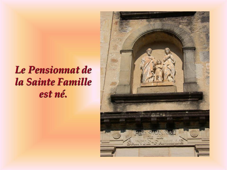 Lesprit de Sainte Emilie de Rodat : « laide aux enfants pauvres.