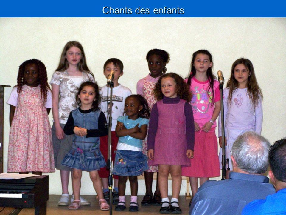 Chants des enfants
