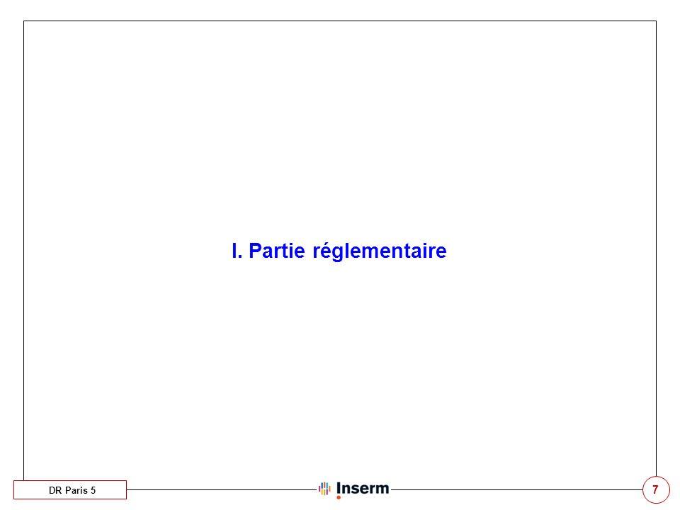8 A. Les congés annuels / ARTT DR Paris 5