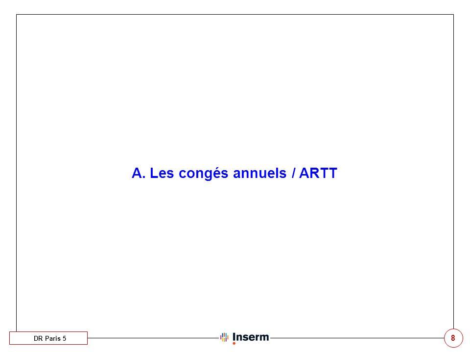 39 Profil « Agent – CET » DR Paris 5