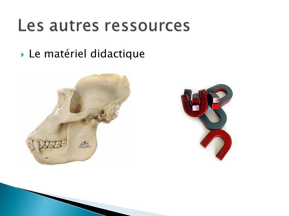 Le matériel didactique
