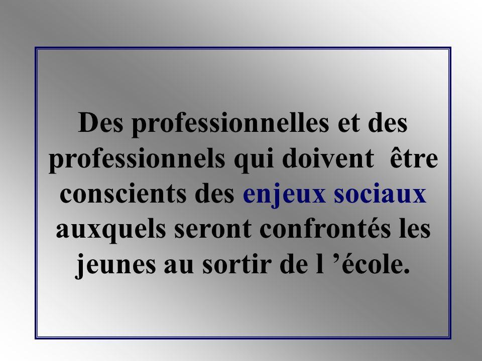 Des professionnelles et des professionnels qui doivent créer des modalités opérationnelles de gestion du parcours différencié des élèves.