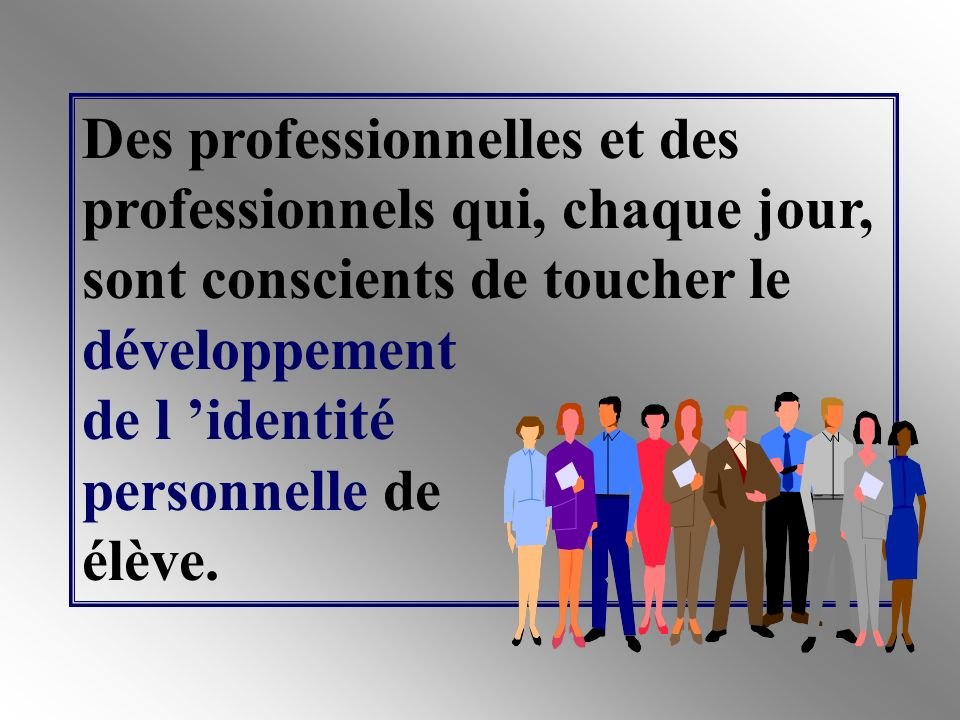 S ils travaillent en cycles d apprentissages, des professionnelles et des professionnels qui doivent développer : un très haut degré de confiance professionnelle; un très haut niveau d interdépendance professionnelle.