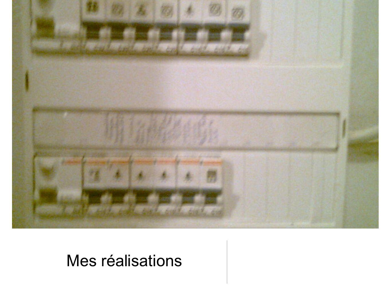 Réalisation de cablages lors de rénovations complètes Raccordements des appareils de chauffage Pose de prise de courants, interrupteurs, téléphone, informatique.
