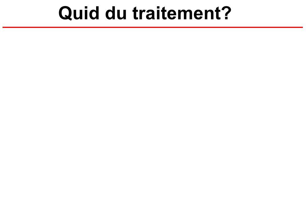 Quid du traitement?