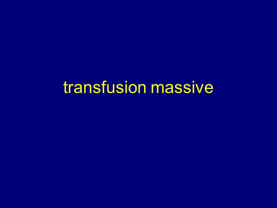 transfusion massive