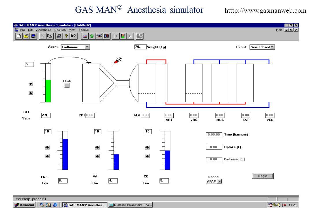 GAS MAN ® Anesthesia simulator htttp://www.gasmanweb.com