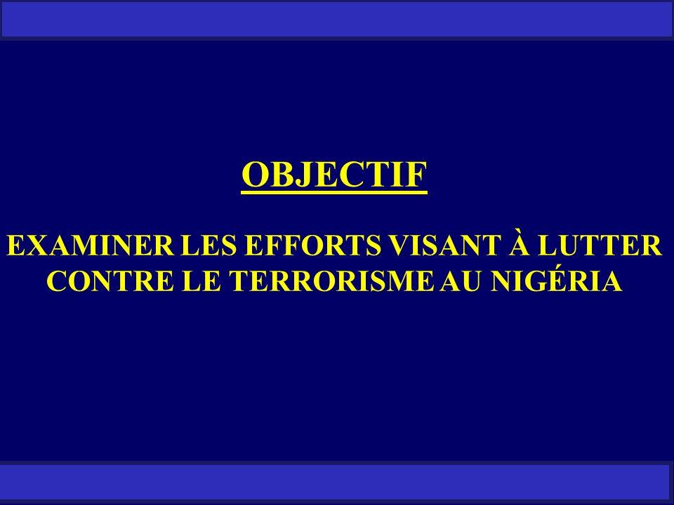 SANS RESTRICTION LES RÉCENTES ACTIVITÉS DE LA SECTE BOKO HARAM (SUITE) 22.