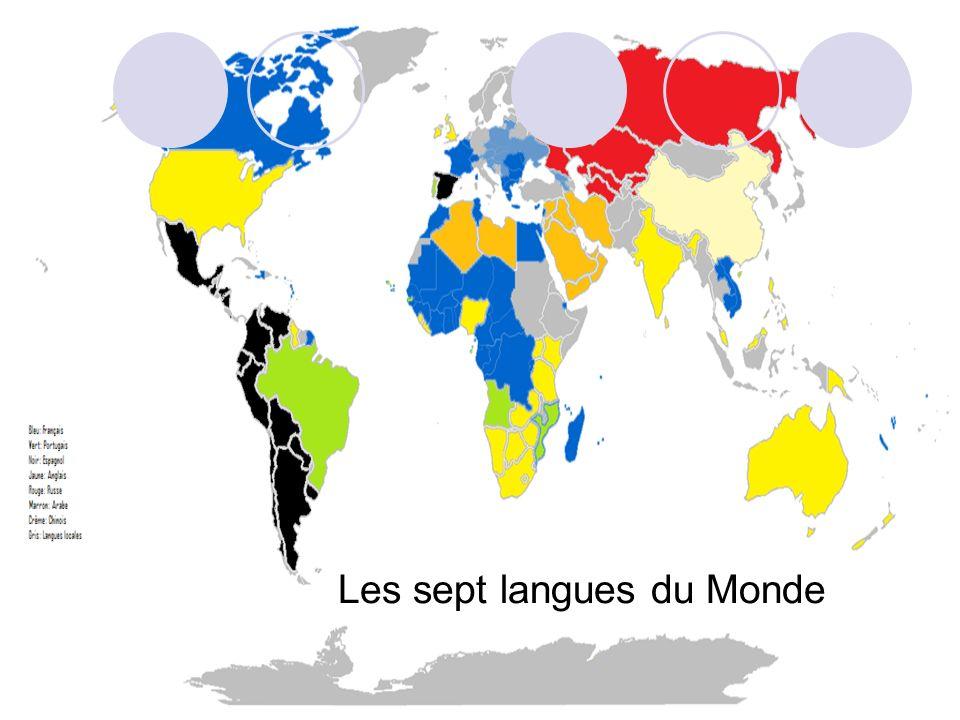 Les sept langues du Monde