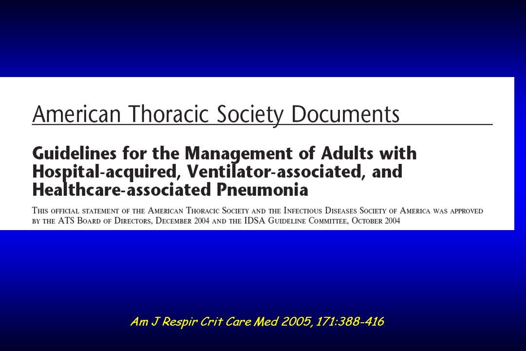 Conséquence dune antibiothérapie inadéquate Surmortalité Défaillances viscérales plus nombreuses 2.5±1.5 vs.9±1.4 (p<0.0001) Durée de séjour en réanimation accrue 10.2±10.2 vs 7.1±8.2 j (p<0.0001) Durée de ventilation accrue 11.1±10.6 vs 7.6±9.2 j (p<0.0001) Kollef, Chest 1999;115:462-74