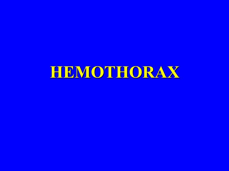 HEMOTHORAX