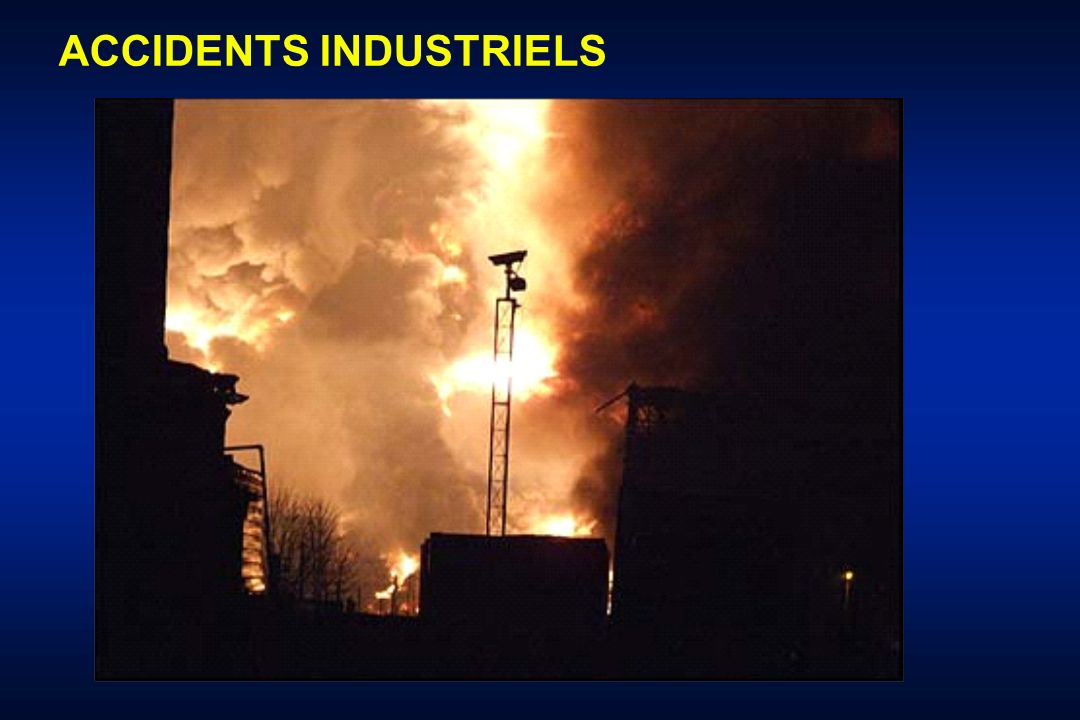 SITUATIONS Médecine militaire Attentats civils Accidents industriels Accidents domestiques