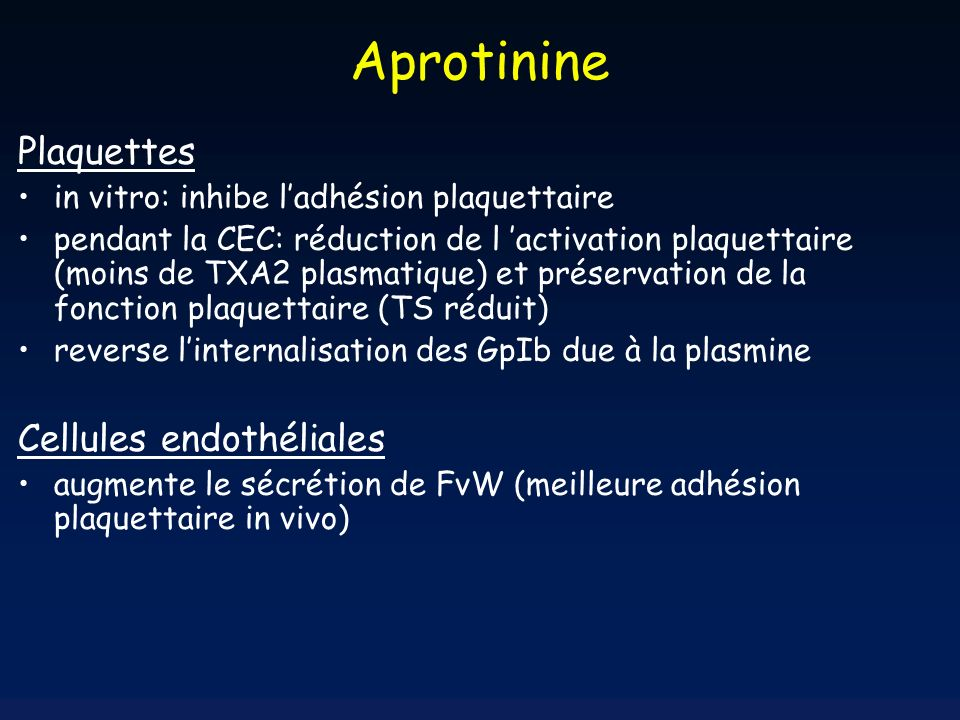 A.Tranexamique AprotinineA.