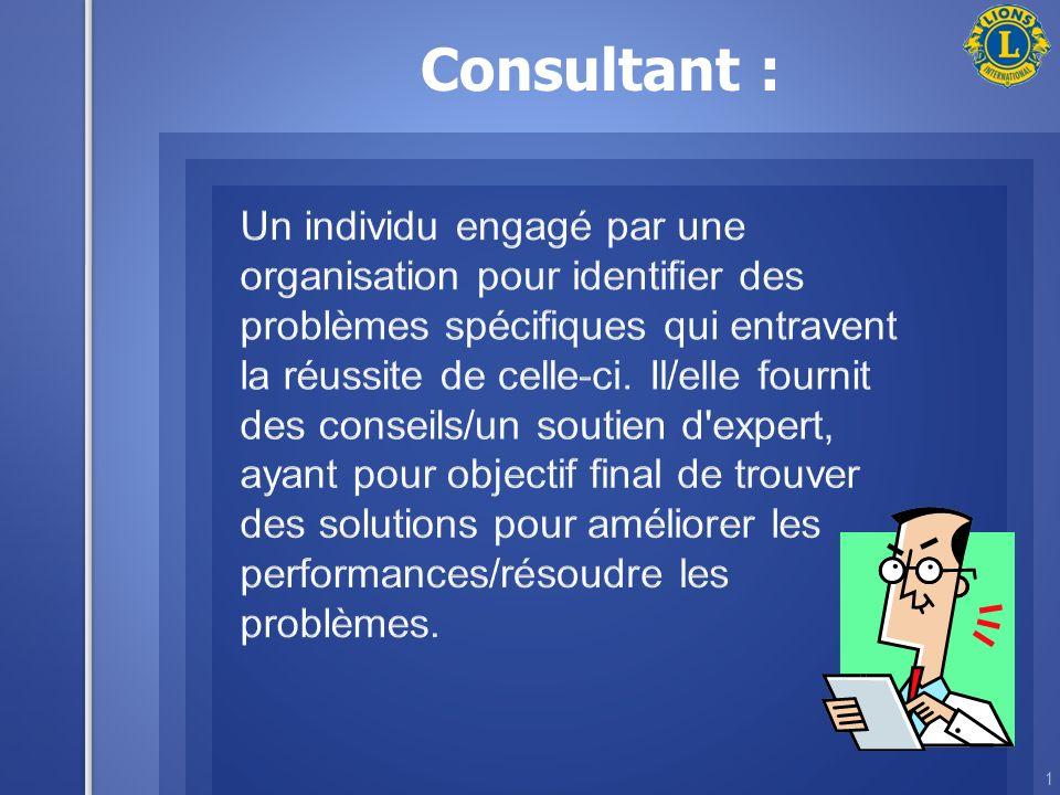 Consultant : 1
