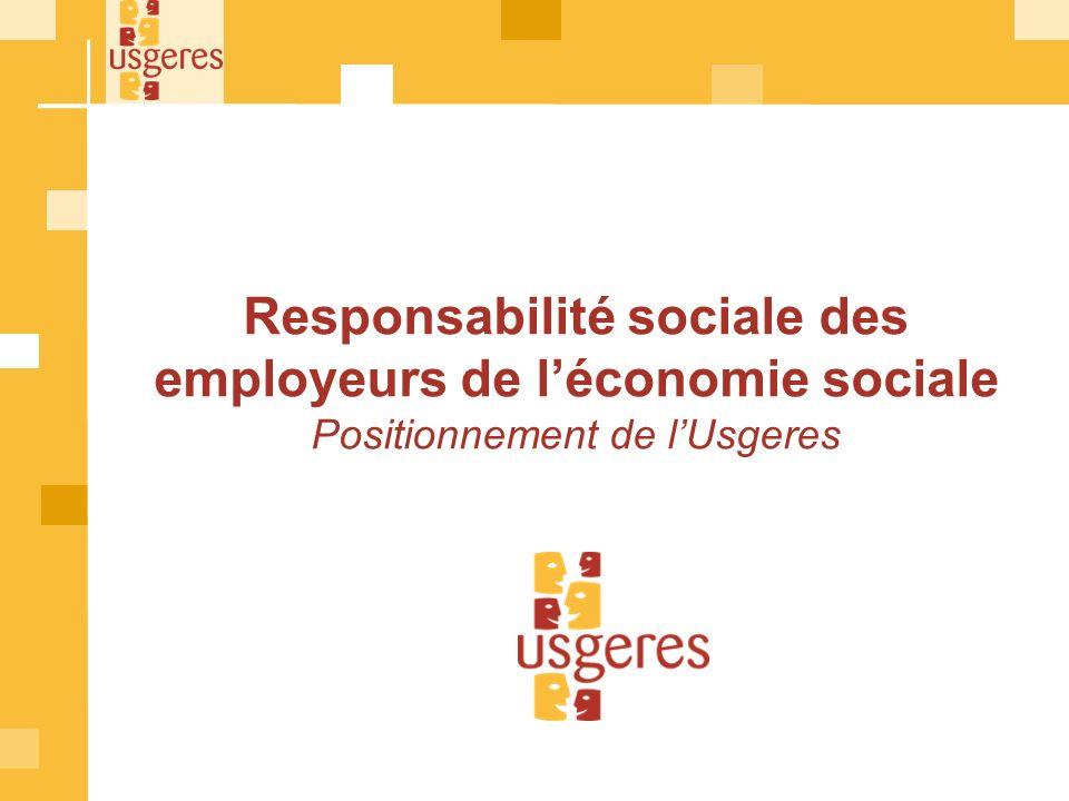 SOMMAIRE 1.Préambule 2.La réponse des employeurs de léconomie sociale et solidaire 3.Les pratiques des employeurs 1.Sur le recrutement 2.Sur lévolution professionnelle 3.Sur le dialogue social 4.Synthèse