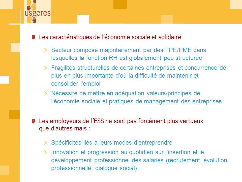 Les pratiques des employeurs 8
