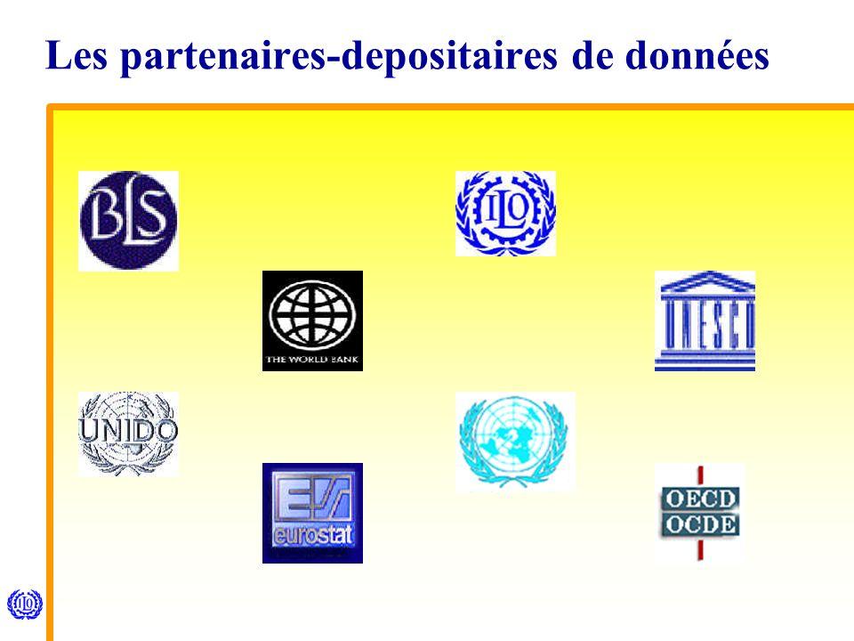 Les partenaires-depositaires de données
