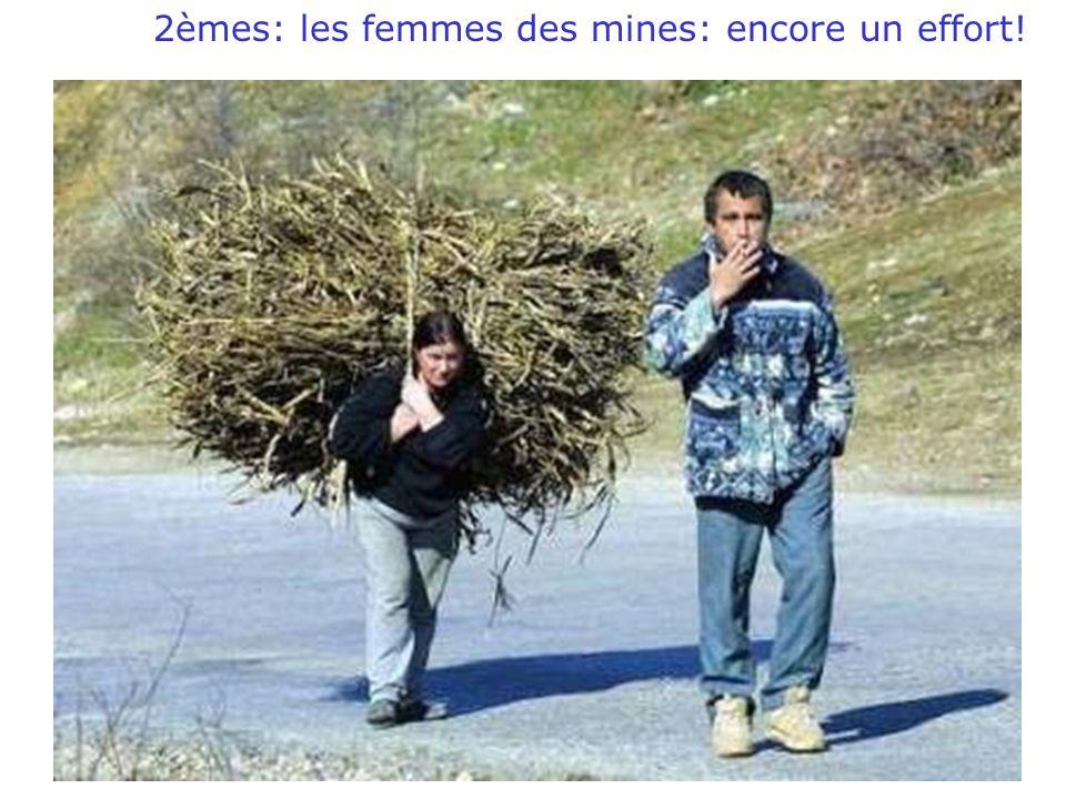 18/03/2010WD 2èmes: les femmes des mines: encore un effort!