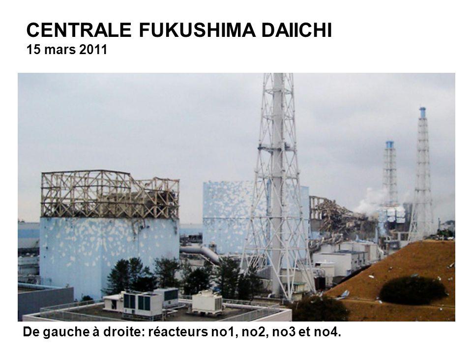 CENTRALE FUKUSHIMA DAIICHI 15 mars 2011 Power Co. via Kyodo News) JAPAN OUT, MANDATORY CREDIT, NO LICENSING IN CHINA, HONG KONG, JAPAN, SOUTH KOREA AN
