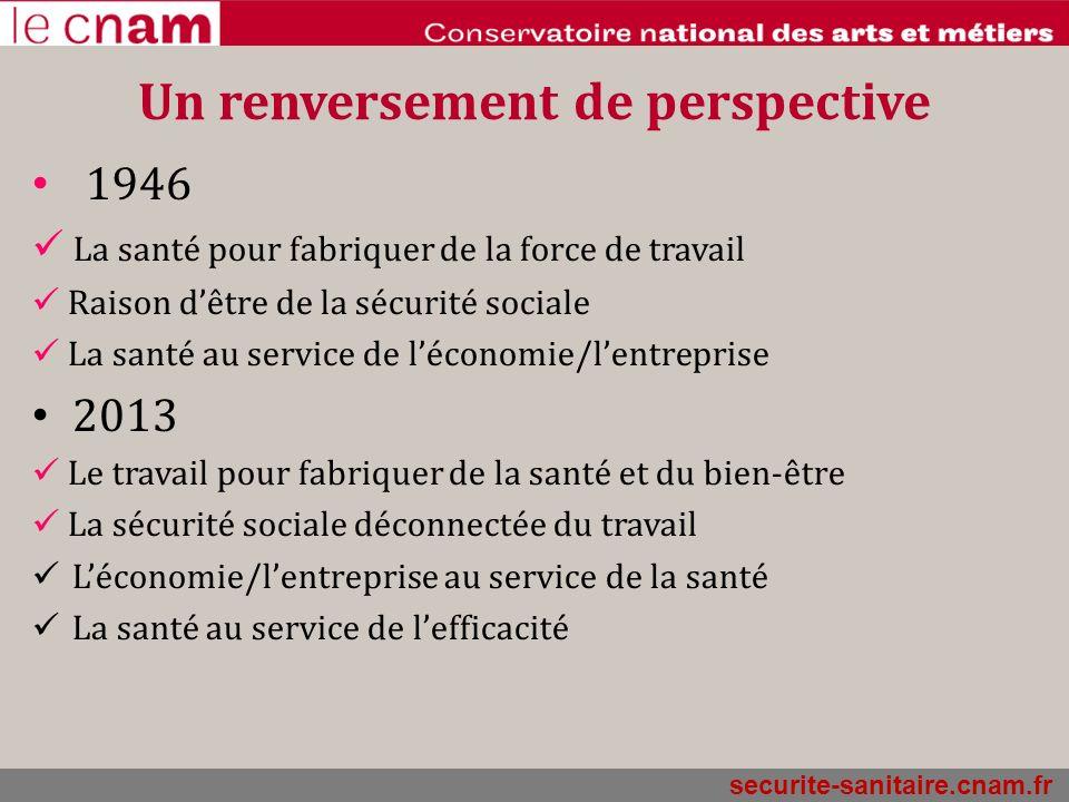 securite-sanitaire.cnam.fr Mais un contexte de défiance « Aujourdhui, on gère les indicateurs économiques, pas les hommes »