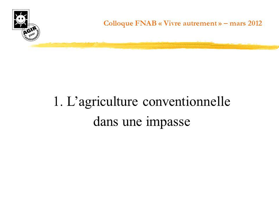 Système agro- forestier à caféier (Guinée) Colloque FNAB « Vivre autrement » – mars 2012