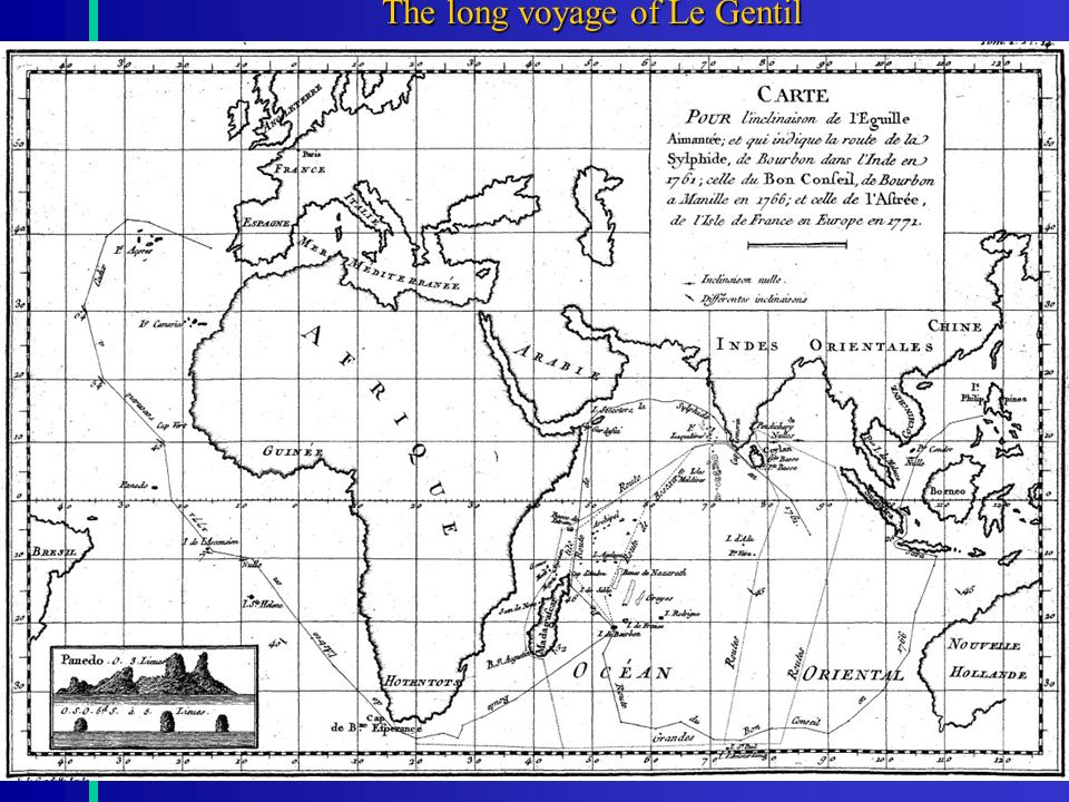 17 The long voyage of Le Gentil