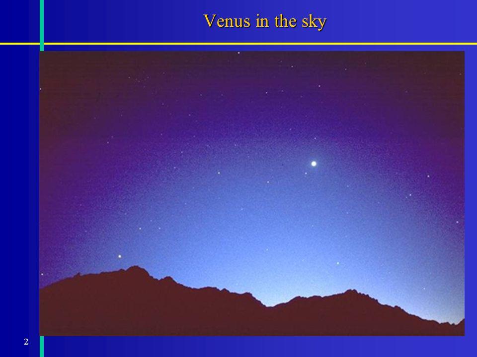2 Venus in the sky