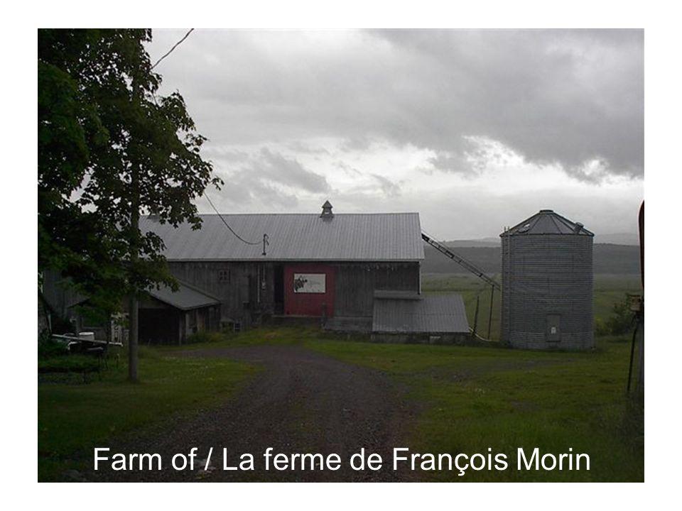 Farm of / La ferme de François Morin
