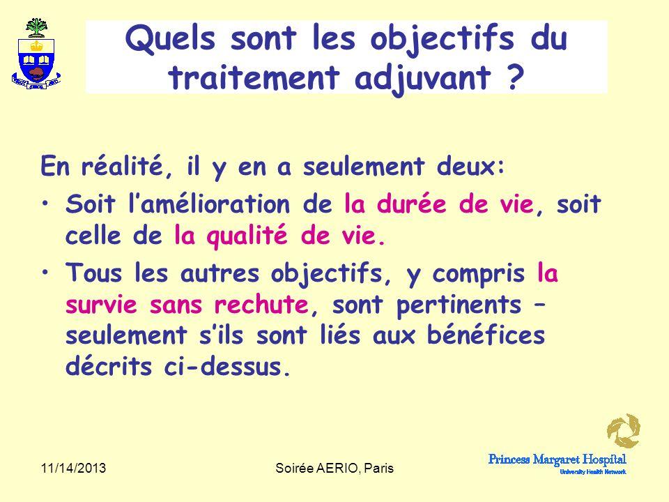 11/14/2013Soirée AERIO, Paris Lhistoire naturelle du cancer du sein.
