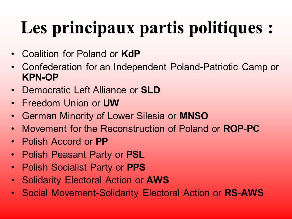 Régime politique La constitution a été proclamée le 3 mai 1791.