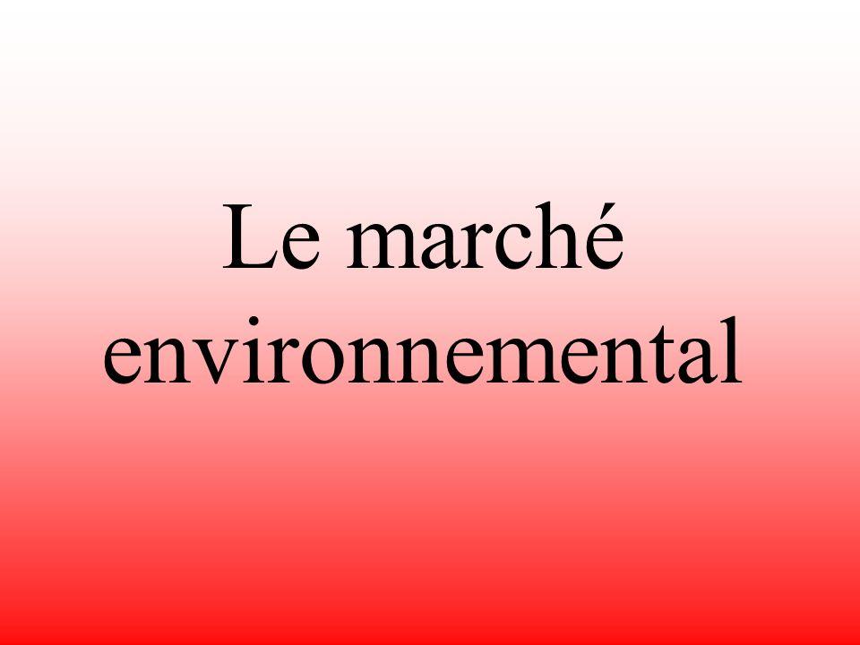 Attitudes vis-à-vis de lécologie Une limitation des problèmes de pollution les plus urgents.