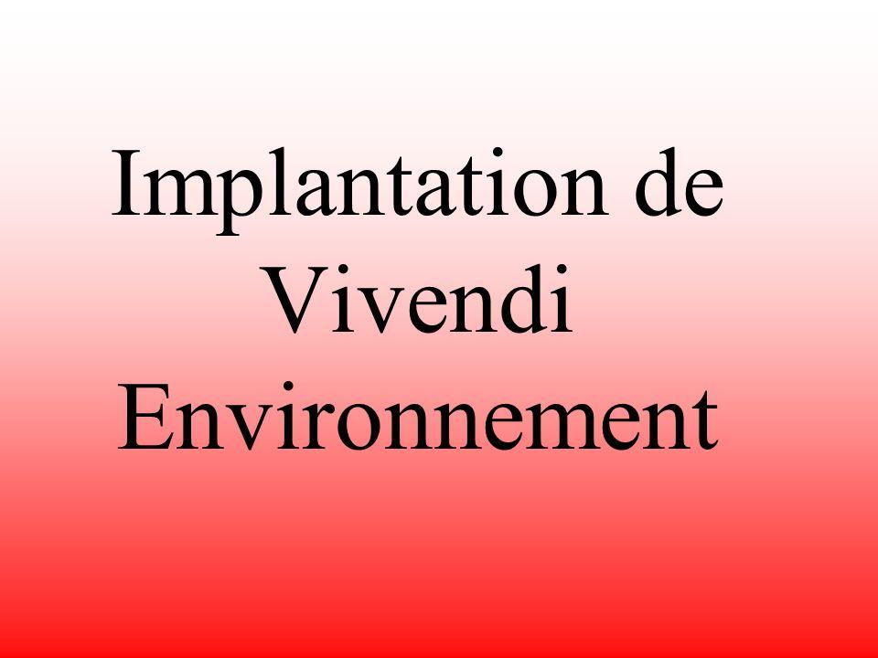 Le marché environnemental La « Politique écologique de lEtat » prévoit notamment la construction de stations dépuration et de stations de traitement des déchets.