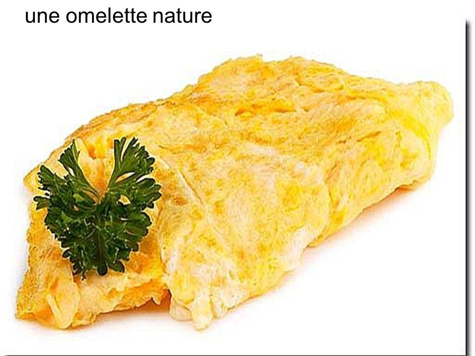 une omelette nature