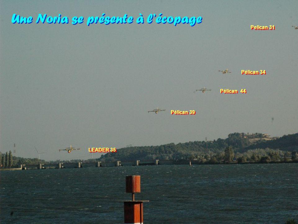 Les pilotes ont relaté quelques missions où les quatre appareils tournaient particulièrement bien.