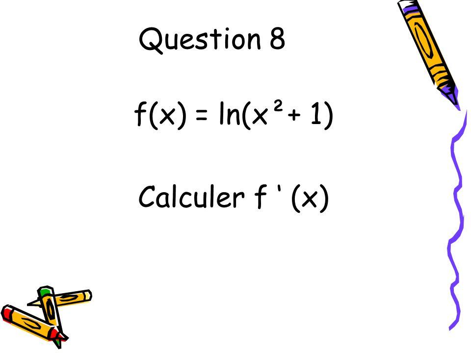 Question 9 On considère la droite (d) déquation :5x + 3y = 150.