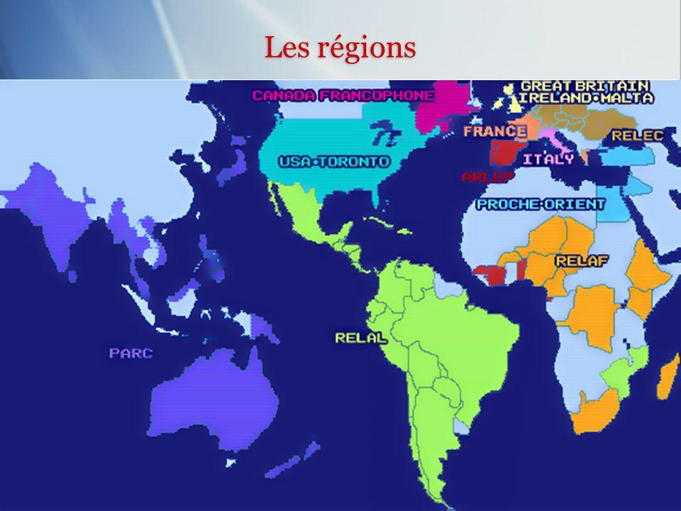 Les régions Les régions