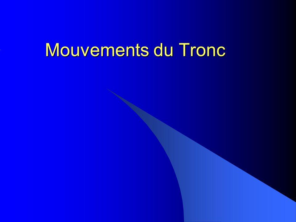 Mouvements du Tronc