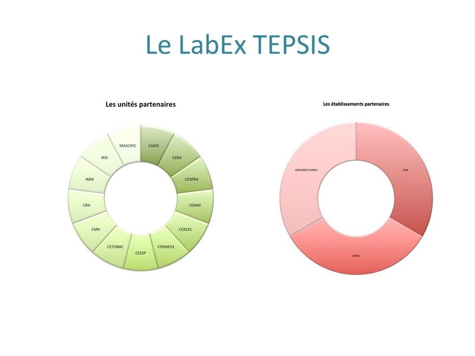 Le LabEx TEPSIS