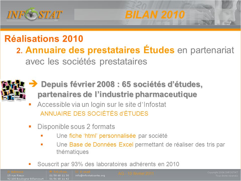 Annuaire – Page daccueil