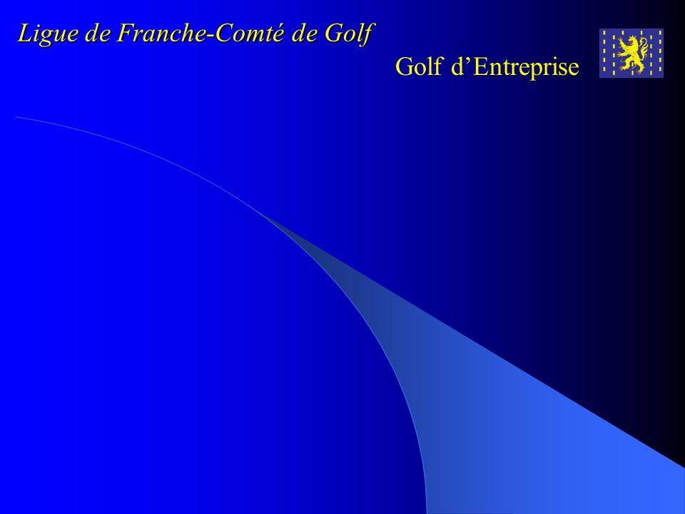 Ligue de Franche-Comté de Golf Golf dEntreprise ASSOLARI Bernard BAILLS Alexandre BARZYK-BROMMER Jean-Michel BELLO R é my BERBEY Elisabeth BERBEY Yves