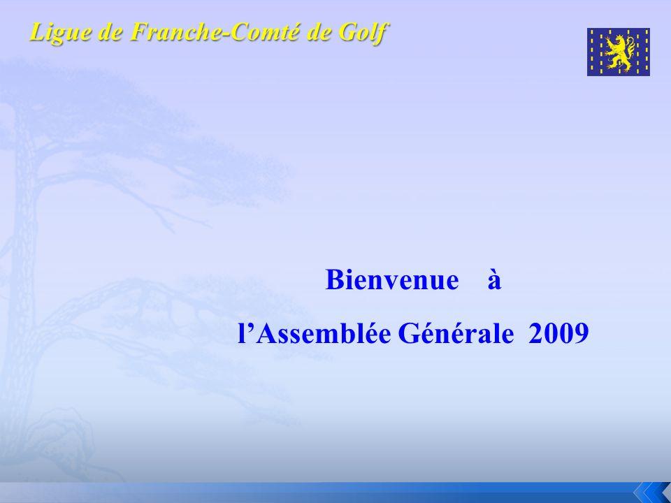 Bienvenue à lAssemblée Générale 2009
