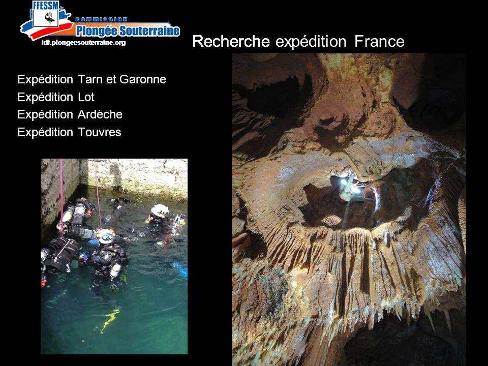 Recherche http://idf.plongeesouterraine.org Fontaine Lussac aux Sources de la Touvre –Pose de balises galerie aval -104m.