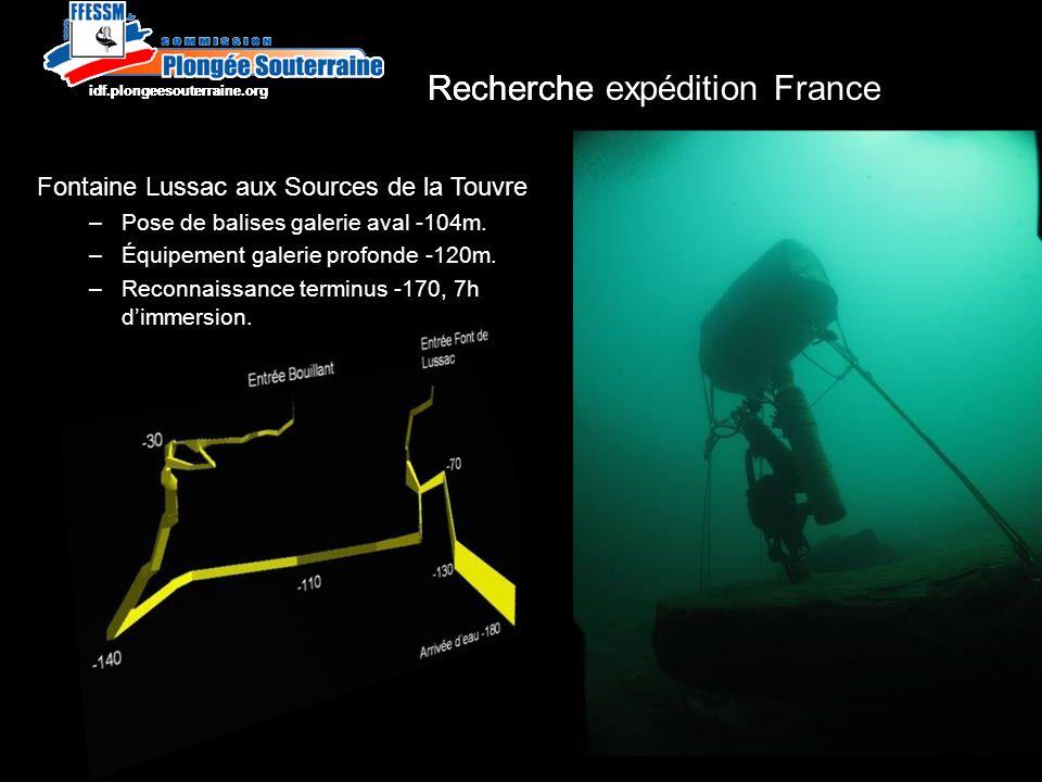 Recherche expédition France http://idf.plongeesouterraine.org